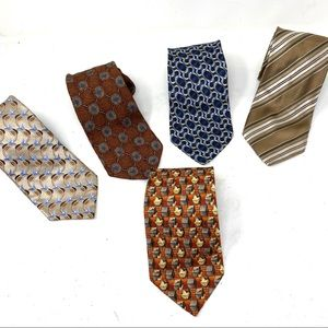 Bundle 5 Ermenegildo Zegna ties